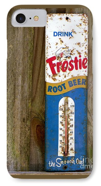 Frostie Root Beer  IPhone Case by Joy Hardee