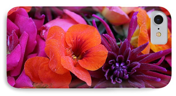 IPhone Case featuring the photograph Dewy Blooms by Jeanette French