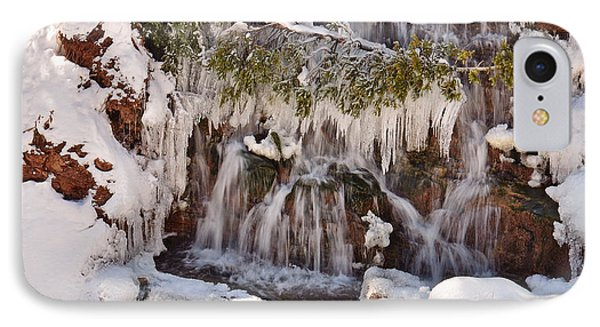 Frosty Cascades IPhone Case