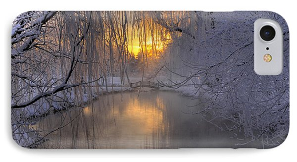 Frosty Morn 2 IPhone Case by Dan Myers