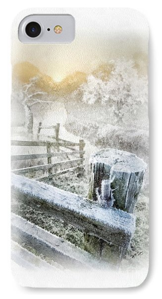 Frosty Morning Phone Case by Mo T