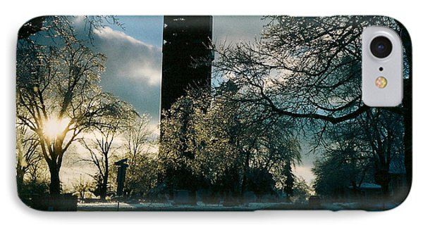 Frosty Sunrise At Tower Park IPhone Case