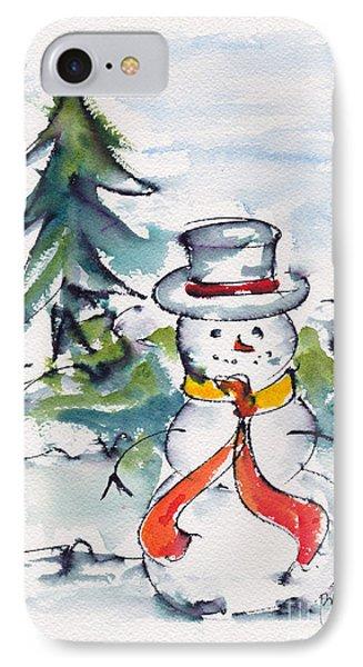 Frosty The Snowman IPhone Case by Pat Katz