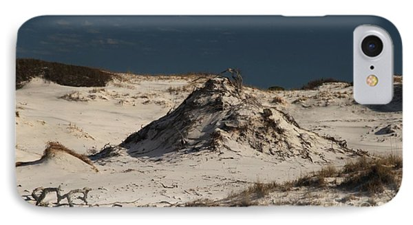 Frosty White Dunes Phone Case by Adam Jewell