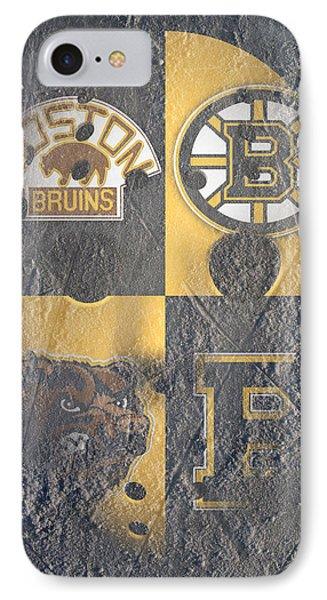Frozen Bruins IPhone Case by Joe Hamilton