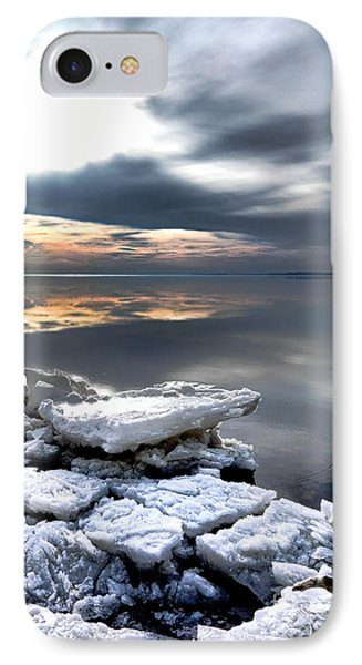Frozen Chesapeake IPhone Case by Olivier Le Queinec