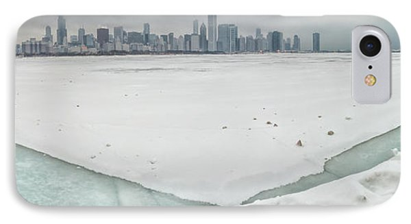 Frozen Chicago IPhone Case by Adam Romanowicz