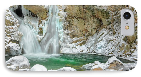 Frozen Emerald IPhone Case by Bill Wakeley