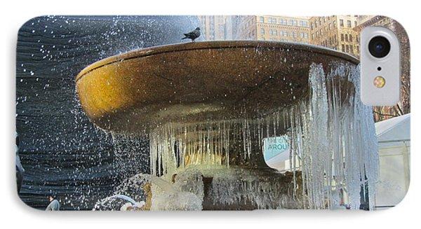 Frozen Fountain Phone Case by Maritza Melendez