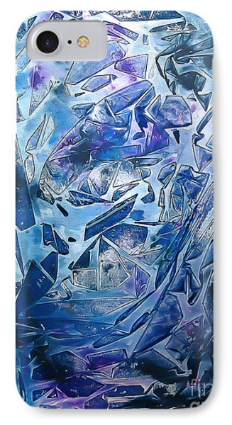 Frozen IPhone Case by Heather  Hiland