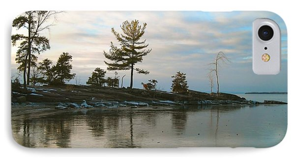 Frozen Lake At Dusk IPhone Case