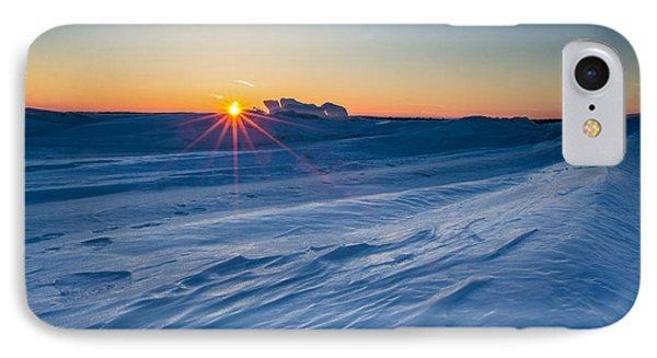 Frozen Lake Minnewaska Phone Case by Aaron J Groen