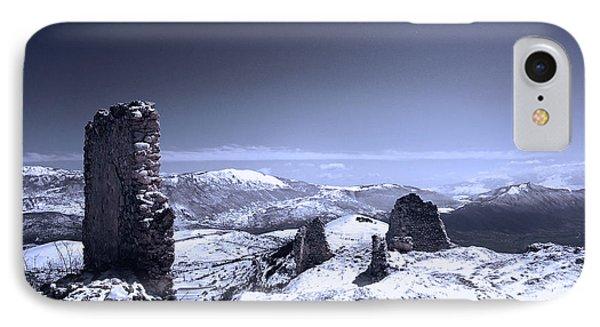 Frozen Landscape IPhone Case by Andrea Mazzocchetti