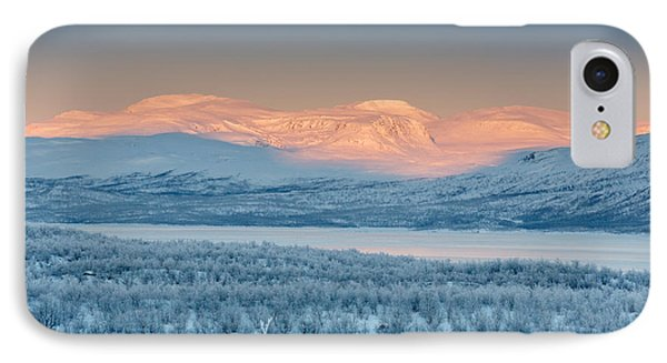 Frozen Landscape, Cold Temperatures IPhone Case by Panoramic Images