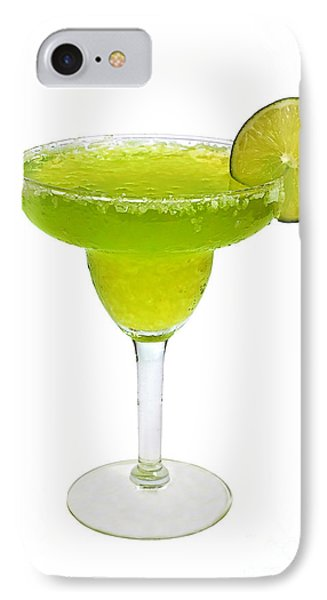 Frozen Margarita With Lime Isolated IPhone Case