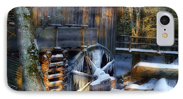 Frozen Mill In The Cove IPhone Case