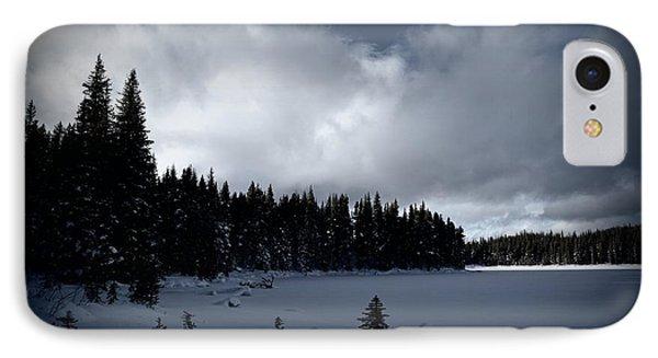 Frozen Nickel Plate Lake IPhone Case by Guy Hoffman