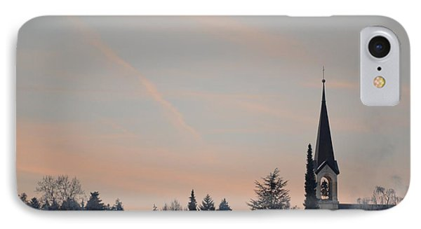 IPhone Case featuring the photograph Frozen Sky 2 by Felicia Tica