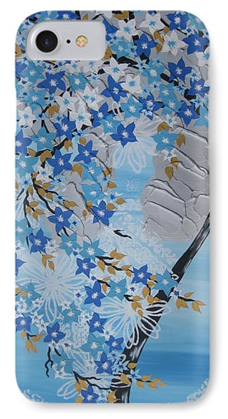 Frozen Tree IPhone Case by Cathy Jacobs