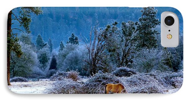 IPhone Case featuring the photograph Frozen Turf by Julia Hassett