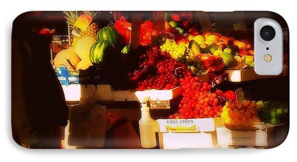 IPhone Case featuring the photograph Fruit A La Caravaggio by Miriam Danar