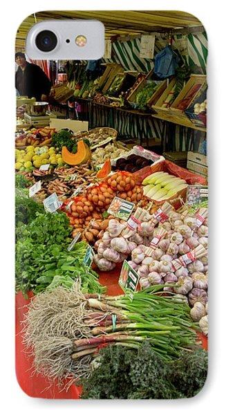 Fruit And Veg Market IPhone Case by Bob Gibbons