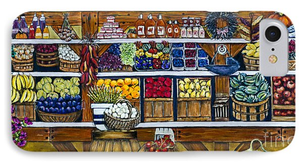 Fruit And Vegetable Market By Alison Tave IPhone Case