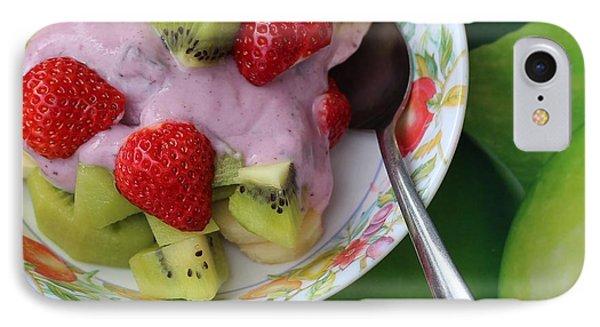 Fruit And Yogurt - Dessert - Food  Phone Case by Barbara Griffin