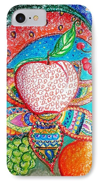 Fruit Angels And Faries IPhone Case by Anjali Sanghi