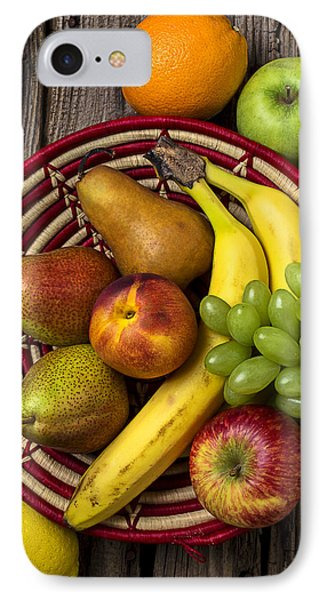 Fruit Basket IPhone Case by Garry Gay