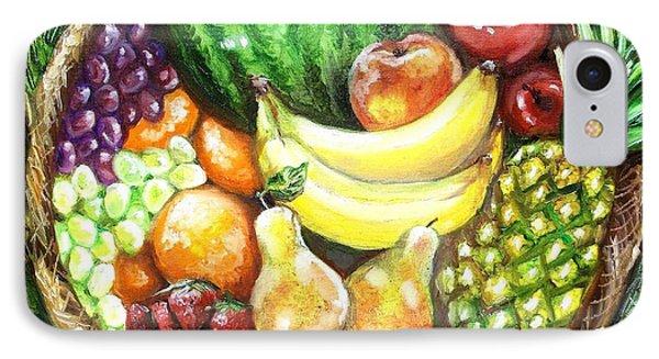 Fruit Basket Phone Case by Shana Rowe Jackson