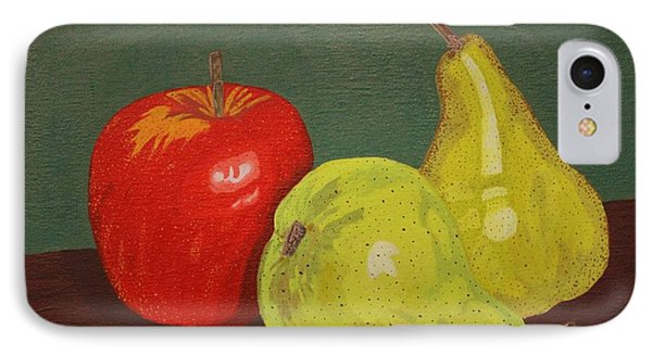 Fruit For Teacher Phone Case by Vicki Maheu