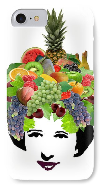Fruit Lady Phone Case by Jennifer Schwab