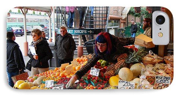 Fruit Market Vendor IPhone Case