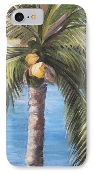 Fruit Of The Palm IPhone Case by Roberta Rotunda