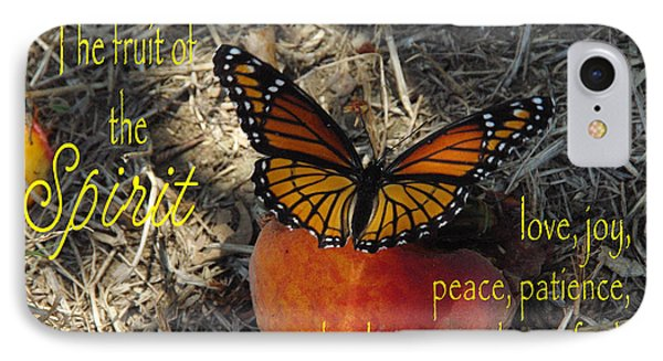 Fruit Of The Spirit Phone Case by Robyn Stacey