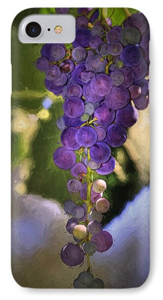 Fruit Of The Vine Phone Case by Donna Kennedy