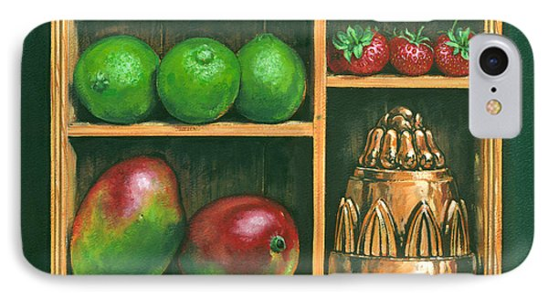 Fruit Shelf IPhone Case by Brian James