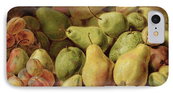 Fruit Still Life IPhone Case by Johann Friedrich August Tischbein