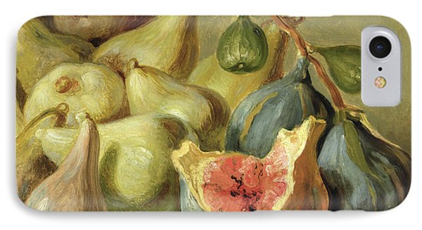 Fruit Still Life IPhone Case by Johann Heinrich Wilhelm Tischbein