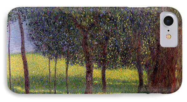 Fruit Trees IPhone Case by Gustav Klimt