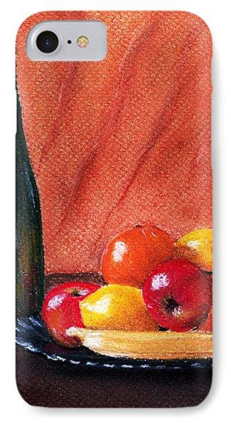 Fruits And Wine Phone Case by Anastasiya Malakhova