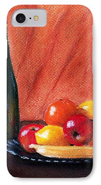 Fruits And Wine IPhone Case by Anastasiya Malakhova