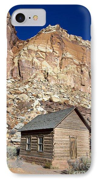 Frutia Schoolhouse Capitol Reef National Park Utah Phone Case by Jason O Watson
