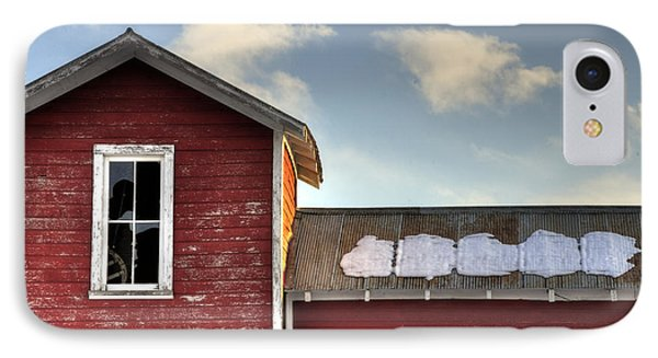 Ft Collins Barn 13493 Phone Case by Jerry Sodorff