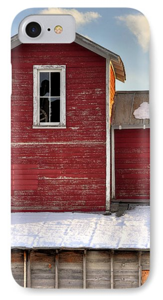 Ft Collins Barn 13496 Phone Case by Jerry Sodorff