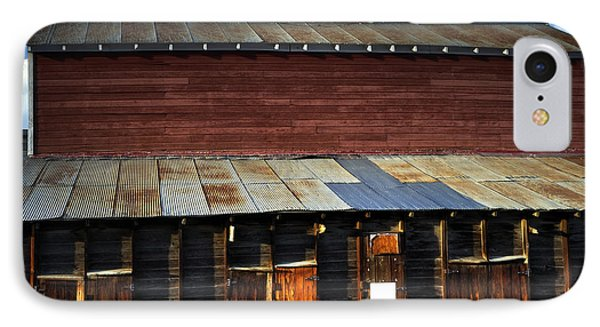 Ft Collins Barn 13553 Phone Case by Jerry Sodorff
