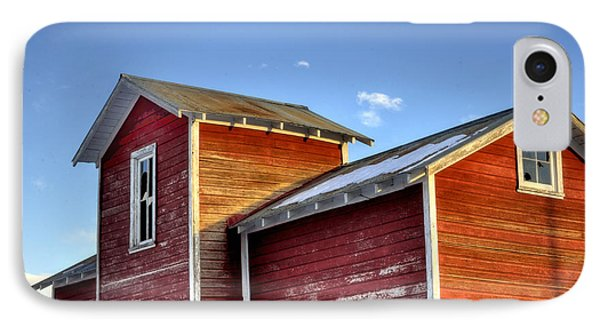 Ft Collins Barn Sunset 13505 Phone Case by Jerry Sodorff