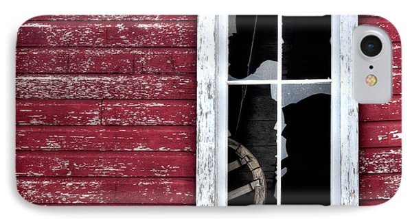 Ft Collins Barn Window 13568 Phone Case by Jerry Sodorff