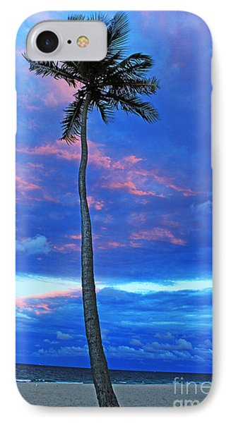 Ft Lauderdale Palm IPhone Case by Alison Tomich
